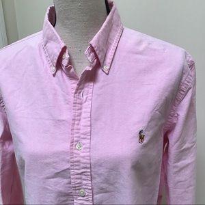 Ralph Lauren   Pink Button Down Shirt